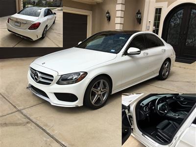2016 Mercedes-Benz C-Class lease in Sugar Land,TX - Swapalease.com