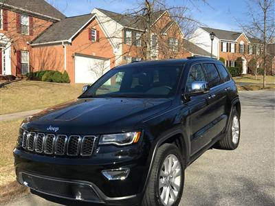 2017 Jeep Grand Cherokee lease in Great Falls,VA - Swapalease.com