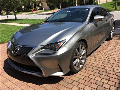 2015 Lexus RC 350 lease in HIGHLAND Beach,FL - Swapalease.com
