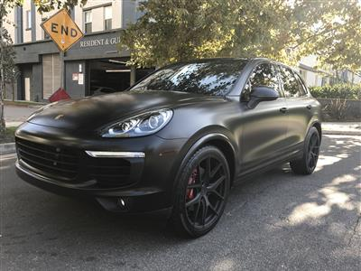 2017 Porsche Cayenne lease in Los Angeles,CA - Swapalease.com