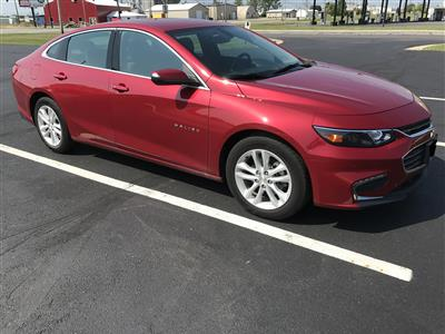 2016 Chevrolet Malibu lease in Sidney,OH - Swapalease.com