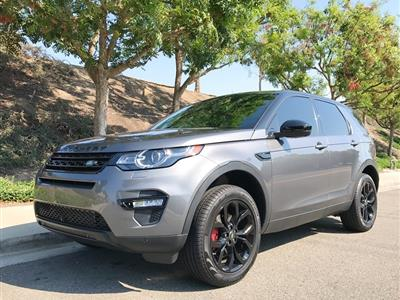 2016 Land Rover Discovery Sport lease in Laguna Hills,CA - Swapalease.com