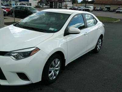 2016 Toyota Corolla lease in ROME,NY - Swapalease.com
