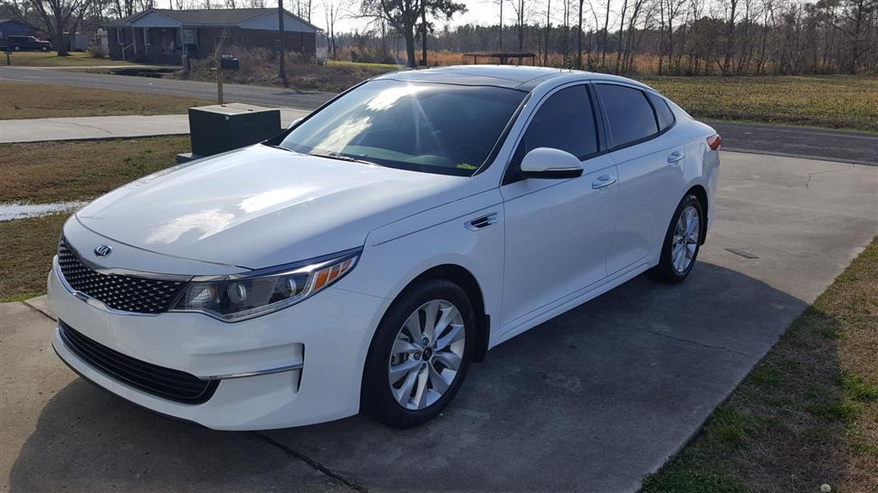 Very Nice 2016 Kia Optima Ex Up For Off Lease Terms Can Be Adjusted To Fit Your Needs This Vehicle Is A Nonsmoker And It S Pet Free