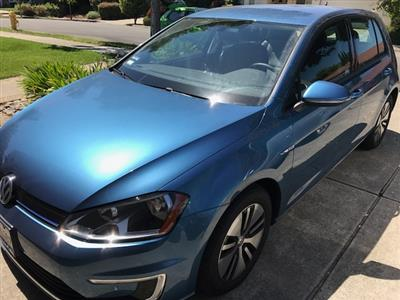 2016 Volkswagen e-Golf lease in Cupertino,CA - Swapalease.com