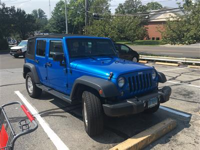 2016 Jeep Wrangler lease in South Port,CT - Swapalease.com