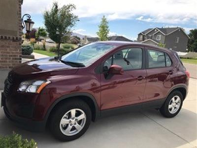 2016 Chevrolet Trax lease in Salem,UT - Swapalease.com