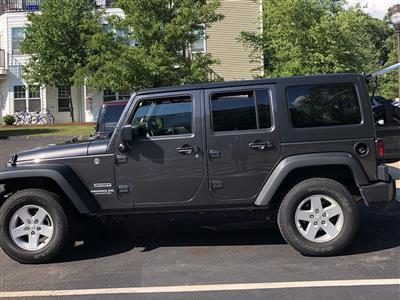 2017 Jeep Wrangler lease in Abington,MA - Swapalease.com
