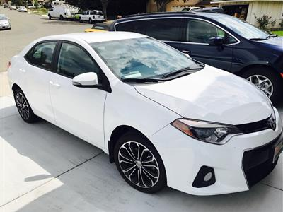 2016 Toyota Corolla lease in Simi Valley,CA - Swapalease.com