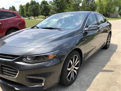 2017 Chevrolet Malibu lease in Liberty,OH - Swapalease.com