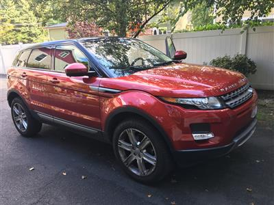 2015 Land Rover Range Rover Evoque lease in Westwood,NJ - Swapalease.com