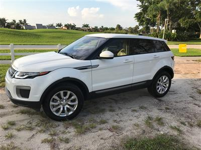 2017 Land Rover Range Rover Evoque lease in Wellington,FL - Swapalease.com