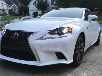 2016 Lexus IS 200t F Sport lease in Peachtree Corners,GA - Swapalease.com