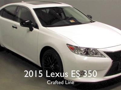 2015 Lexus ES 350 lease in Pembroke pines,FL - Swapalease.com