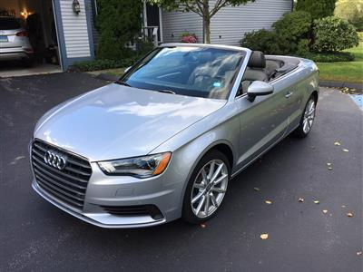 2015 Audi A3 Cabriolet lease in Mystic,CT - Swapalease.com