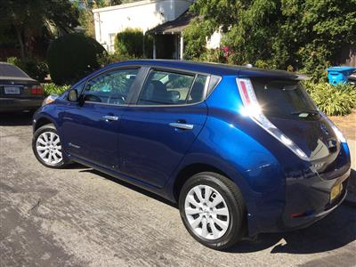 2017 Nissan LEAF lease in San Mateo,CA - Swapalease.com
