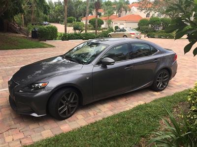 2016 Lexus IS 200t F Sport lease in Naples,FL - Swapalease.com
