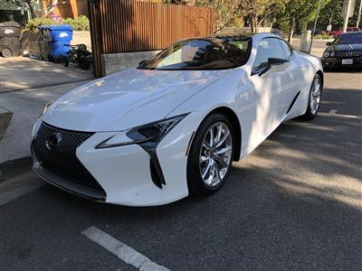 2018 Lexus LC lease in West Hollywood,CA - Swapalease.com