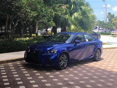 2017 Lexus IS 200t F Sport lease in Miami,FL - Swapalease.com