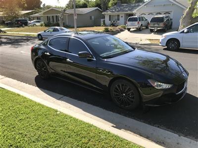 2017 Maserati Ghibli lease in SHERMAN OAKS,CA - Swapalease.com
