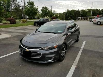 2017 Chevrolet Malibu lease in Toms River,NJ - Swapalease.com