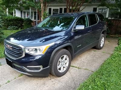 2017 GMC Acadia lease in Bethesda,MD - Swapalease.com