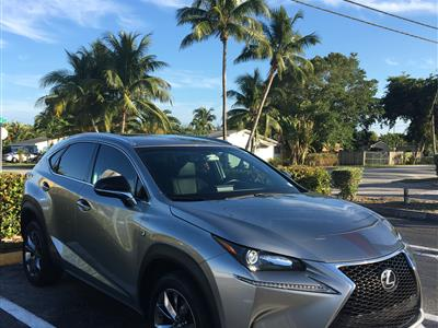 2017 Lexus NX Turbo F Sport lease in Coral Gables,FL - Swapalease.com