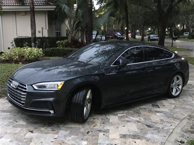 2018 Audi A5 Sportback lease in Boca Raton,FL - Swapalease.com