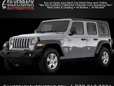 2020 Jeep Wrangler Unlimited lease in Burbank,CA - Swapalease.com