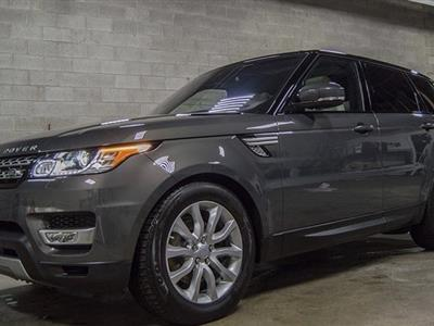 2016 Land Rover Range Rover Sport lease in Dearborn,MI - Swapalease.com