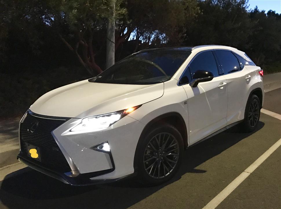 2017 Lexus Rx 350 F Sport Lease In Los Angeles Ca