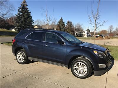 2017 Chevrolet Equinox lease in WATERFORD,MI - Swapalease.com