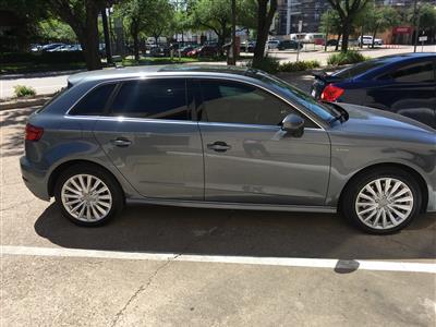 2017 Audi A3 Sportback e-tron lease in Houston,TX - Swapalease.com