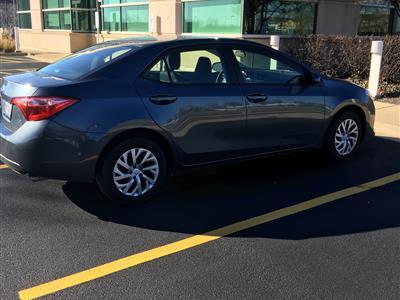 2017 Toyota Corolla lease in Naperville,IL - Swapalease.com