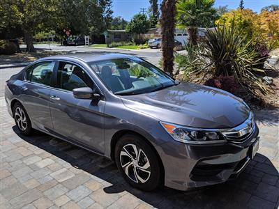 2017 Honda Accord lease in Mountain View,CA - Swapalease.com
