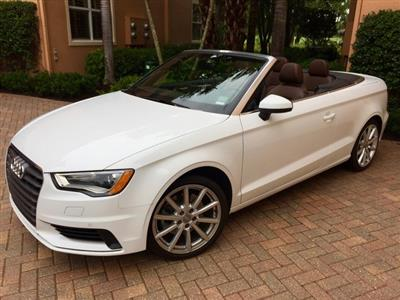 2016 Audi A3 Cabriolet lease in West Palm Beach,FL - Swapalease.com
