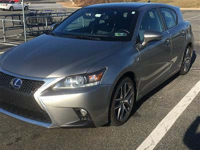 2017 Lexus CT 200h F Sport lease in Phoenixville,PA - Swapalease.com