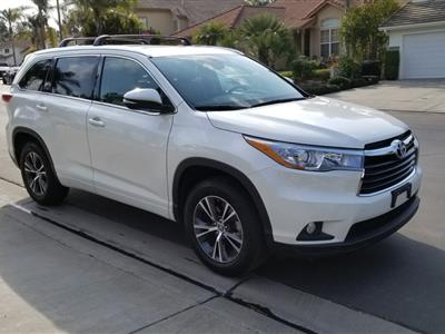 2016 Toyota Highlander lease in San Clemente,CA - Swapalease.com