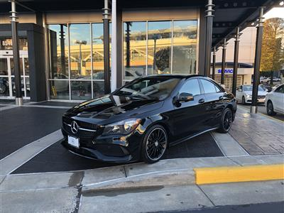 2017 Mercedes-Benz CLA Coupe lease in Washington,DC - Swapalease.com