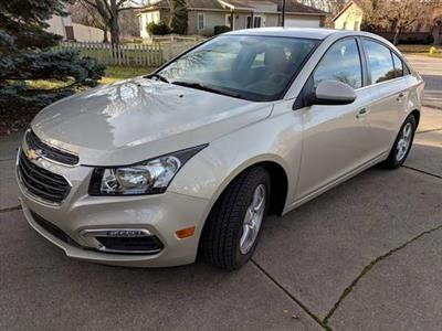 2016 Chevrolet Cruze lease in Kentwood,MI - Swapalease.com