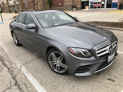 2017 Mercedes-Benz E-Class lease in KILDEER,IL - Swapalease.com