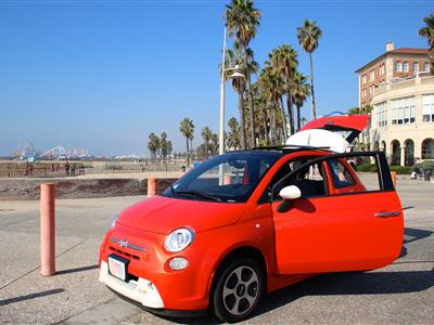 2017 Fiat 500e lease in LOS ANGLES,AL - Swapalease.com