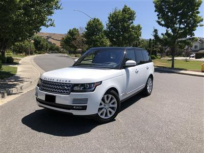 2016 Land Rover Range Rover lease in Morgan Hill,CA - Swapalease.com