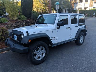 2017 Jeep Wrangler Unlimited lease in Portland,OR - Swapalease.com