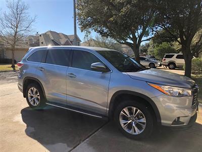 2016 Toyota Highlander lease in Austin,TX - Swapalease.com