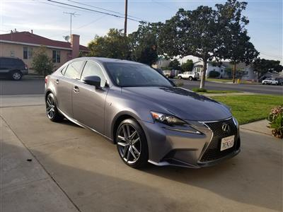 2015 Lexus IS 250 F Sport Lease In Gardena,CA   Swapalease.com