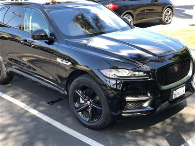 Jaguar suv f pace lease