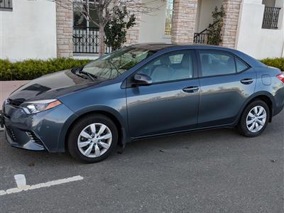 2016 Toyota Corolla lease in Dublin,CA - Swapalease.com