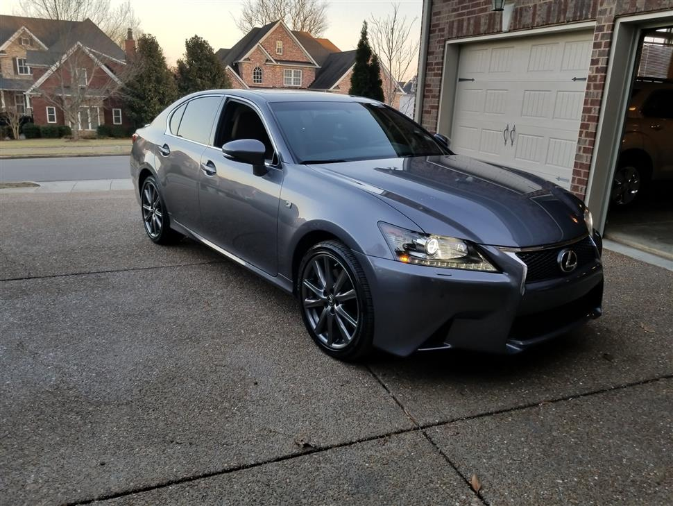 crafted cars f lexus gs rating three trend sport quarter front and reviews motor line