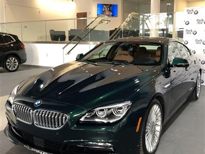 2017 BMW 6-Series ALPINA B6 lease in FAIRFIELD,NJ - Swapalease.com